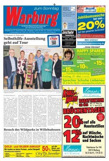 Warburg zum Sonntag 2019 KW 21