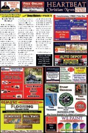 Heartbeat Christian News - Spring 2019 Issue