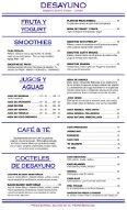 CABO CANTINA MENU ESPAÑOL - Page 3