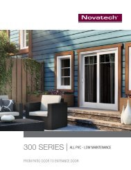 300 Series Patio Door Brochure