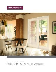 300 Series Patio Door Brochure - Western Canada