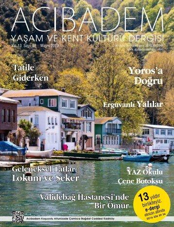 Sayı:68 ACIBADEM Yaşam ve Kent Kültürü Dergisi