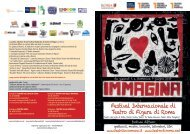 IMMAGINA 2019 Festival Internazionale di Teatro di Figura di Roma