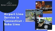 Airport Limo Service in Connecticut - Baba Limousine