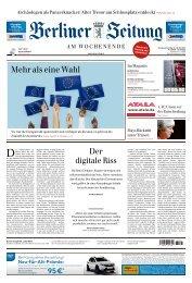 Berliner Zeitung 25.05.2019