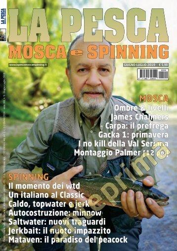 La Pesca Mosca e Spinning 3/2019