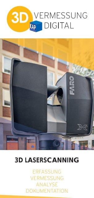 3D Vermessung Digital - Informations Flyer
