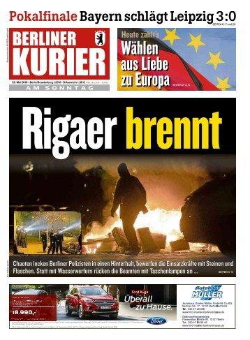 Berliner Kurier 26.05.2019