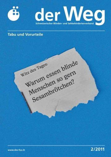 Tabu und Vorurteile - Schweizerischer Blinden- und ...