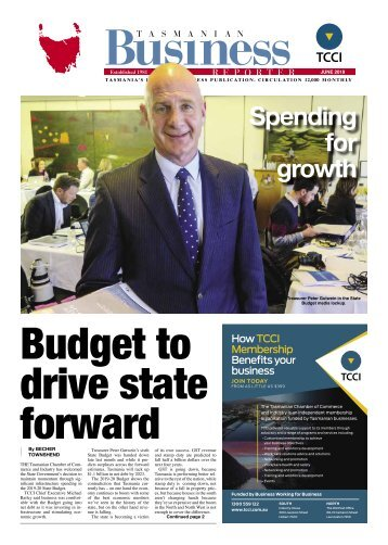 Tasmanian Business Reporter June 2019