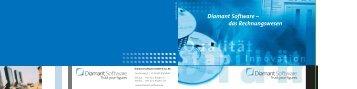 Diamant Software – das Rechnungswesen