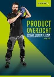 codex Productoverzicht 2019-2020
