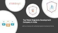 Top Rated Angularjs Development Company In India