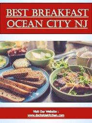 Best Breakfast Ocean City NJ