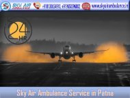 Fastest Sky Air Ambulance Service in Patna