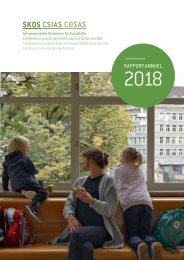 Rapport annuel de la CSIAS 2018