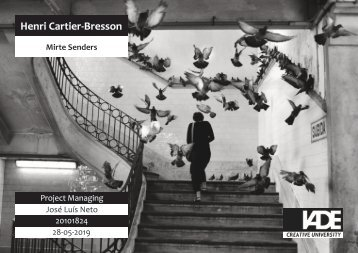 Henri Cartier-Bresson Mirte Senders