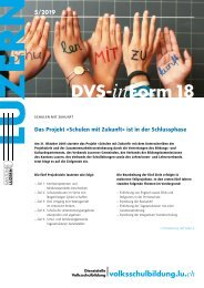 DVS-inForm 18, Mai 2019