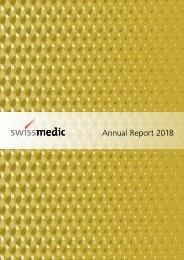 Swissmedic Annual Report 2018