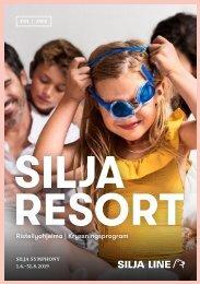 Cruise Program Silja Symphony FIN&SWE 1.6.–31.8.2019