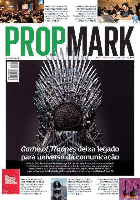 edição de 27 de maio de 2019