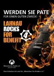 Sponsorenkonzept Lahnau rocks 4