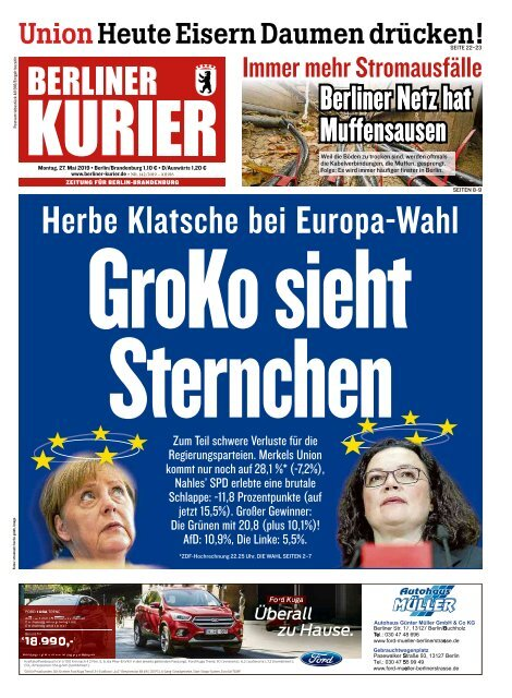 Berliner Kurier 27.05.2019