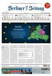 Berliner Zeitung 27.05.2019
