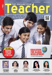 The Progressive Teacher Vol 05 Issue 04