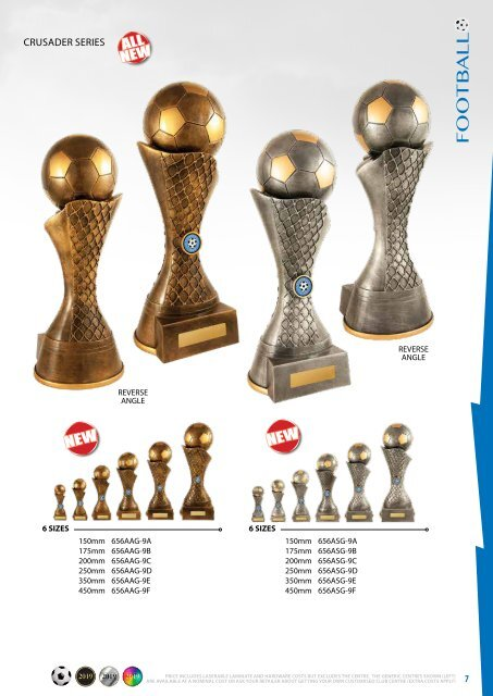 Diff Trophies Football 2019