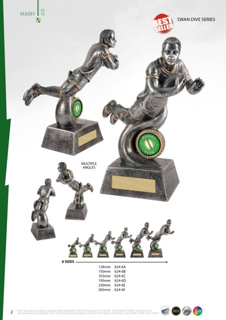 Diff Trophies Rugby 2019