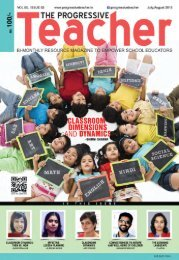 The Progressive Teacher Vol 05 Issue 03