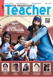The Progressive Teacher Vol 05 Issue 02