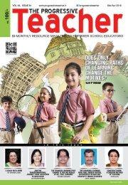 The Progressive Teacher  Vol 05 Issue 01