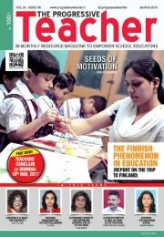 The Progressive Teacher Vol 04 Issue 06