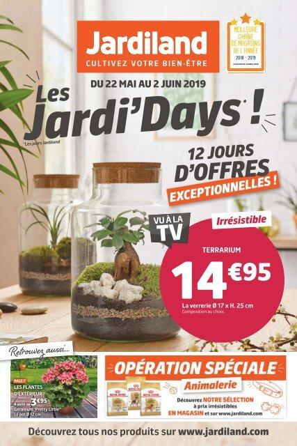 Jardiland catalogue 22 mai-2 juin 2019