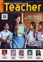 The Progressive Teacher Vol 04 Issue 05