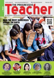The Progressive Teacher Vol 04 Issue 01