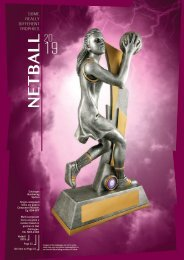 2019 - Some Really Different Netball Trophies