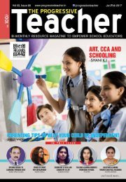 The Progressive Teacher Vol 03 Issue 06