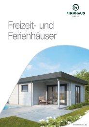 Ferienhaus-Katalog 2019 aus dem Hause Wolff-Finnhaus