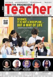 The Progressive Teacher Vol 03 Issue 04
