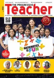 The Progressive Teacher Vol 03 Issue 03