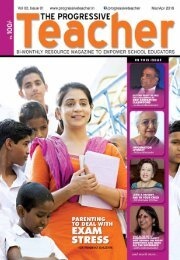 The Progressive Teacher Vol 03 Issue 01