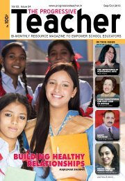The Progressive Teacher Vol 02 Issue 04