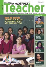 The Progressive Teacher Vol 02 Issue 03
