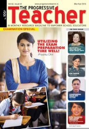 The Progressive Teacher Vol 02 Issue 01