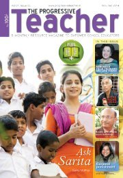 The Progressive Teacher Vol 01 Issue 05