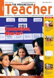 The Progressive Teacher Vol 01 Issue 01