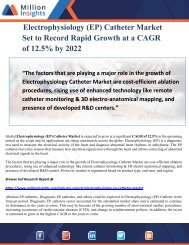 Electrophysiology (EP) Catheter Market Set to Record Rapid Growth at a CAGR of 12.5% by 2022